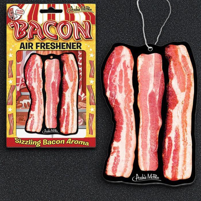Bacon Air Freshener | Funny dad gift | Beanstalk Single Mums