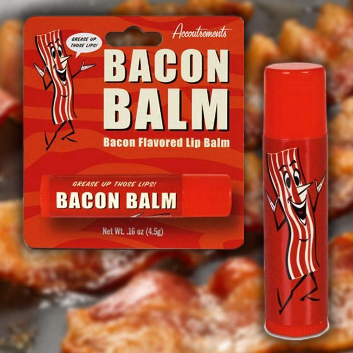 Bacon Flavoured Lip Balm - - Archie McPhee - Yellow Octopus