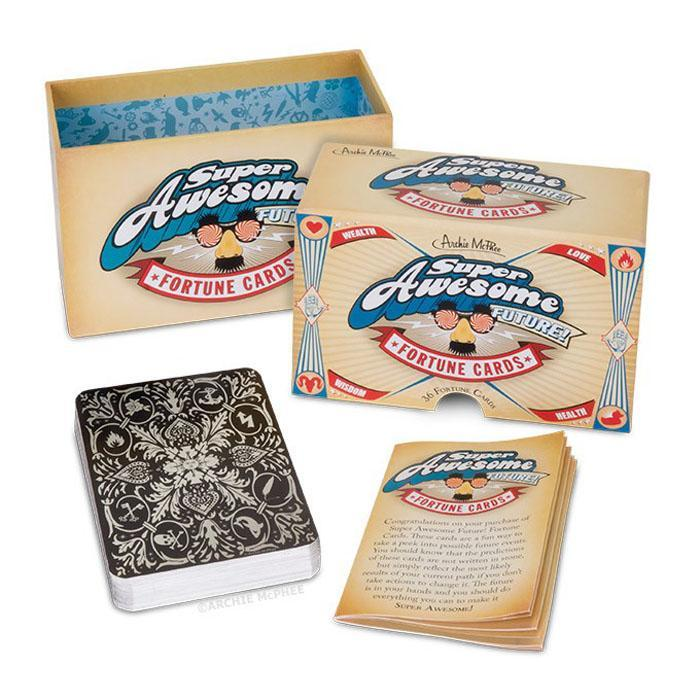 Archie McPhee Super Awesome Future! Fortune Telling Cards