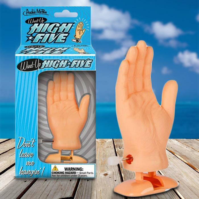 Archie McPhee Wind-Up High Five