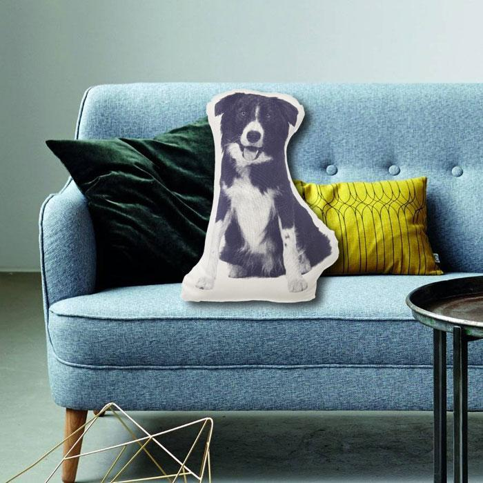 Border Collie Dog Fauna Cushion | Areaware - - Areaware - Yellow Octopus
