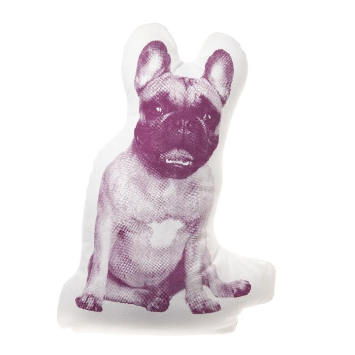 Areaware French Bulldog Fauna Cushion | Areaware