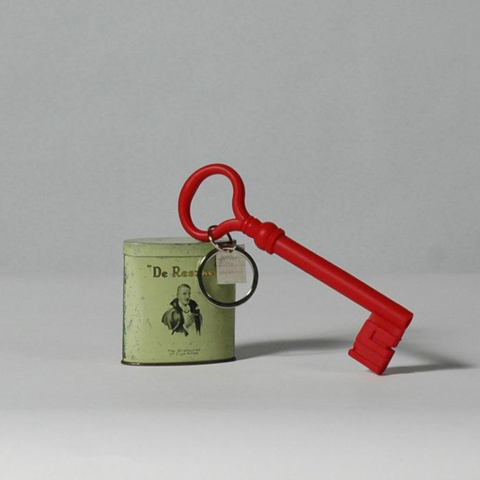 Giant Silicone Key Keychain - Red | Areaware - - Areaware - Yellow Octopus