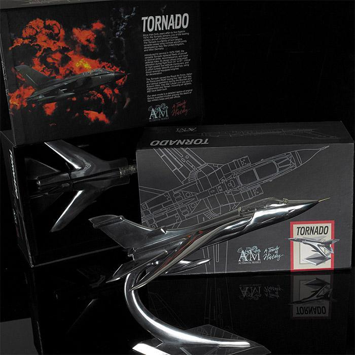 Panavia Tornado Jetfighter Airplane Aluminium Model Plane - - Authentic Models - Yellow Octopus