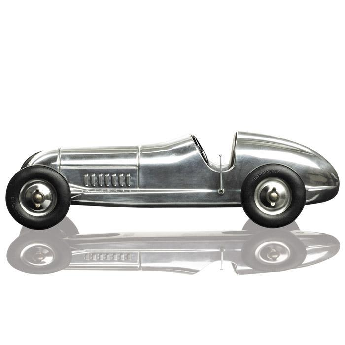 "The Indianapolis"" Spindizzy Aeroplane Aluminium Racing Car Model ..."