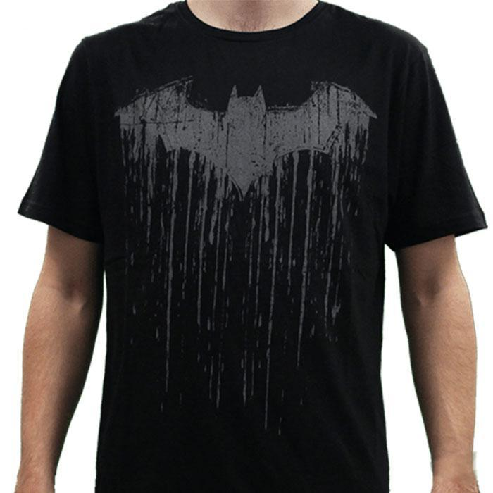 Batman DC Comics Dripping Batman Logo T-Shirt