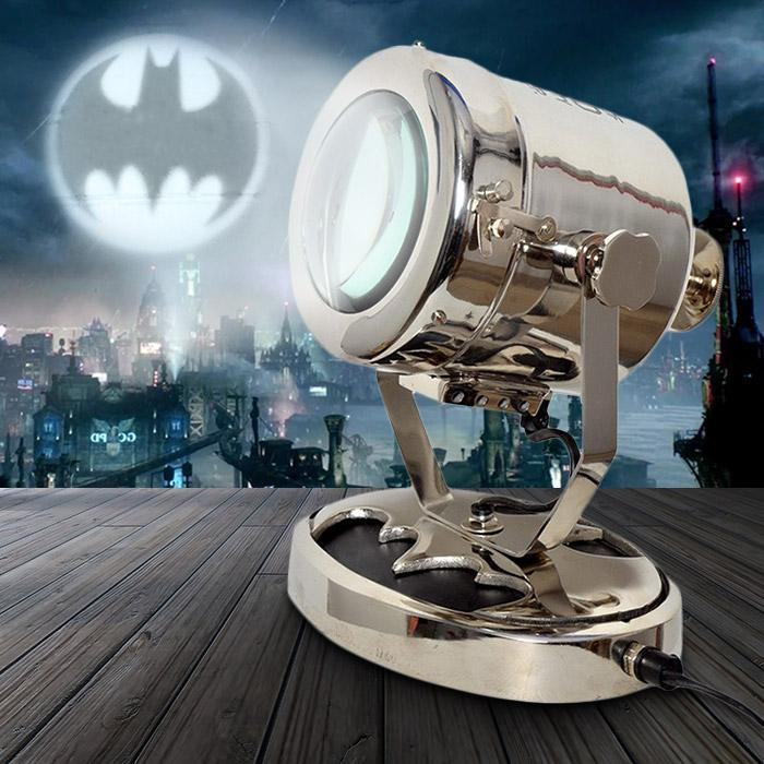 Limited Edition Batman Bat Signal Desk Lamp - - Batman - Yellow Octopus