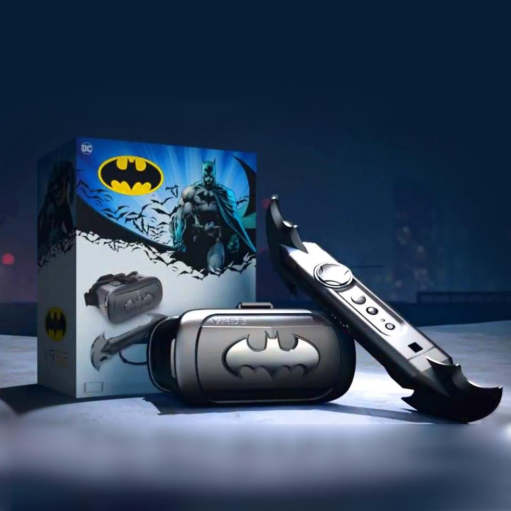 Batman VR VRSE Virtual Reality Gaming System - - DC Comics - Yellow Octopus