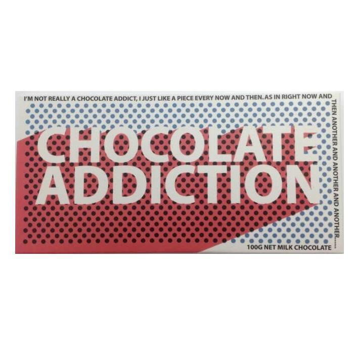 Chocolate Addiction Chocolate Bar - - Bellaberry - Yellow Octopus