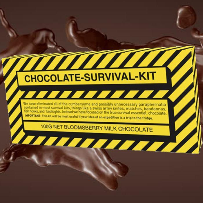 Chocolate Survival-Kit Bar - - Bellaberry - Yellow Octopus