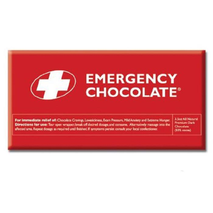 Emergency Chocolate Bar | Milk Chocolate - - Bellaberry - Yellow Octopus