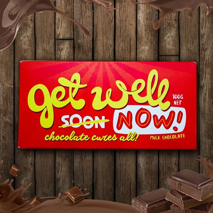 Bellaberry Get Well Now! Chocolate Bar
