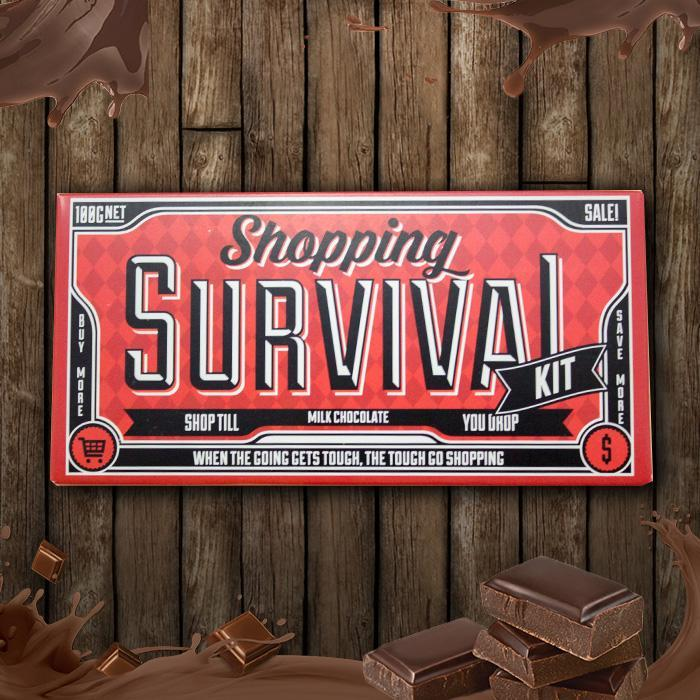 Bellaberry Shopping Survival Chocolate Bar