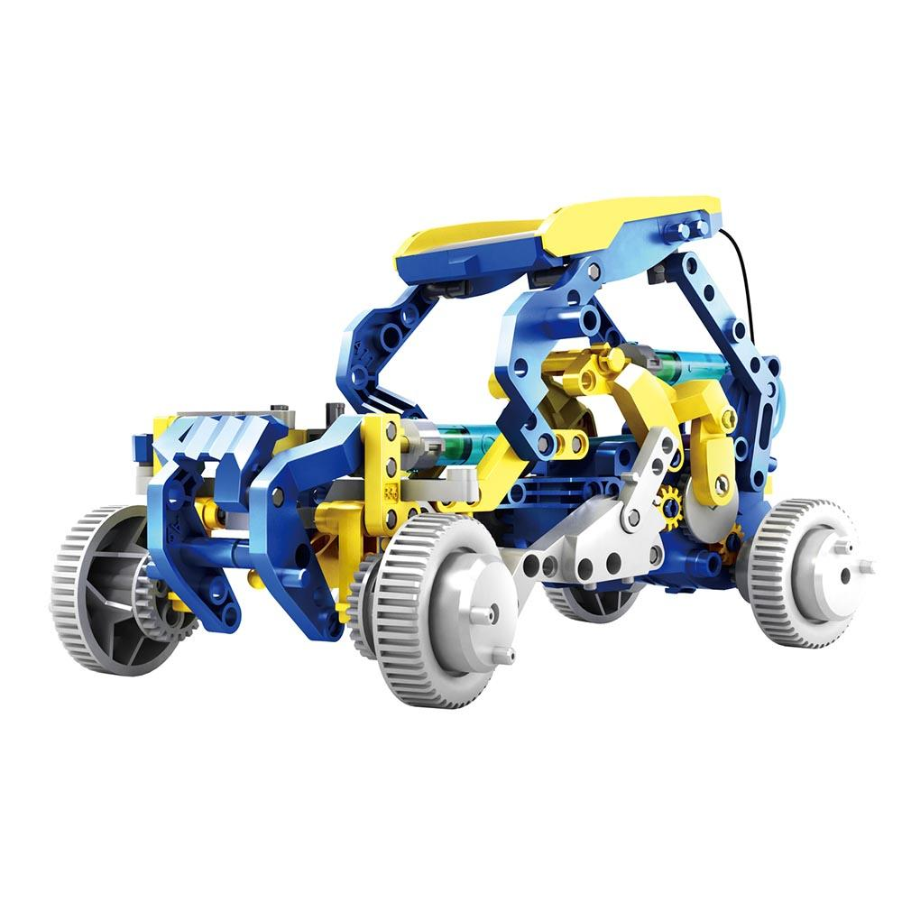 12-in-1 Solar-Powered Hydraulic Robot Construction Kit