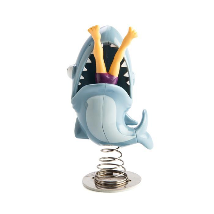 Dashboard Shark Dancer - - Big Mouth Toys - Yellow Octopus