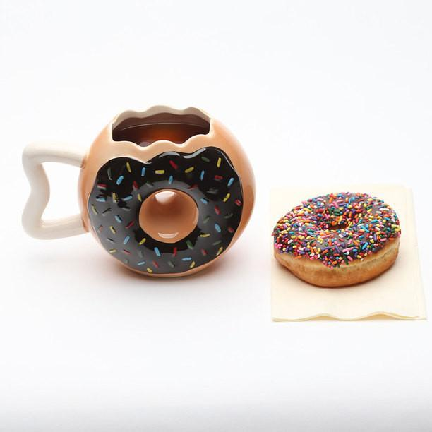 Big Mouth Toys Donut Shaped Mug
