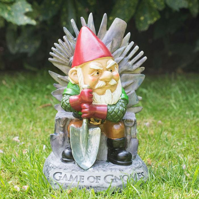 Game Of Gnomes Garden Gnome - - Big Mouth Toys - Yellow Octopus