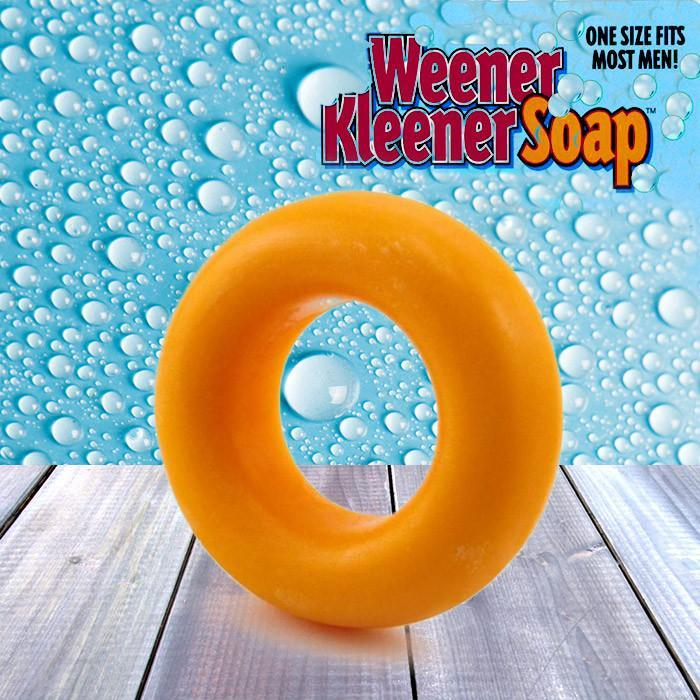 Weener Kleener Genital Cleaning Soap - - Big Mouth Toys - Yellow Octopus