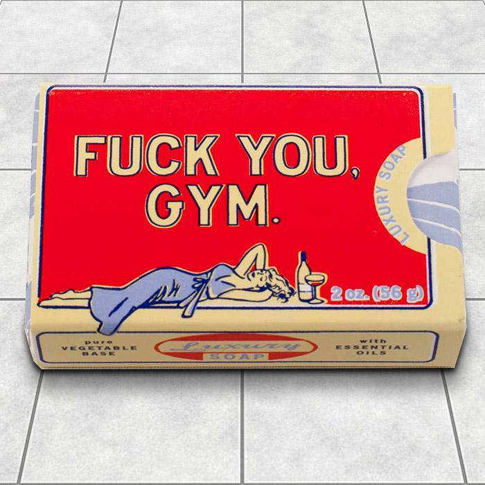 F#ck You, Gym - Soap - - Blue Q - Yellow Octopus
