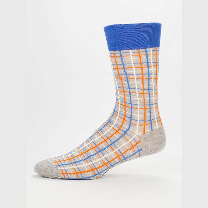 I Don't Care I'm High Mens Socks - - Blue Q - Yellow Octopus