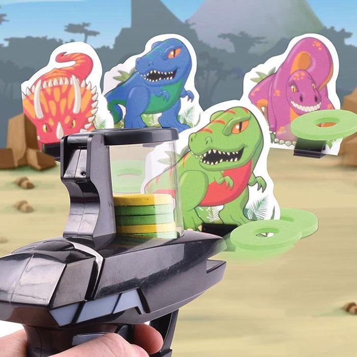 Blue Sky Designs Dino Hunter Target Shooting Game