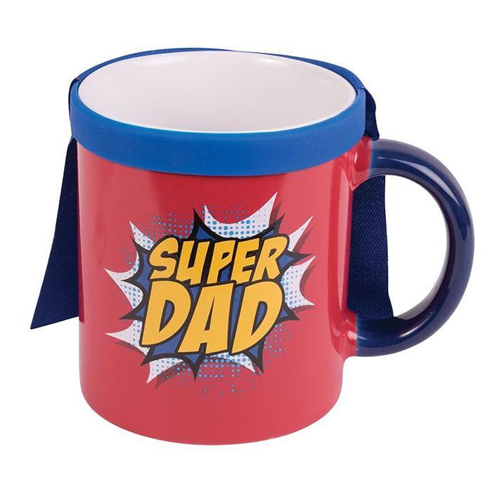 Blue Sky Designs Super Dad Mug With Removable Cape!