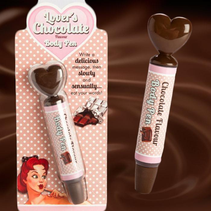 Boxer Gifts Lover's Chocolate Body Pen
