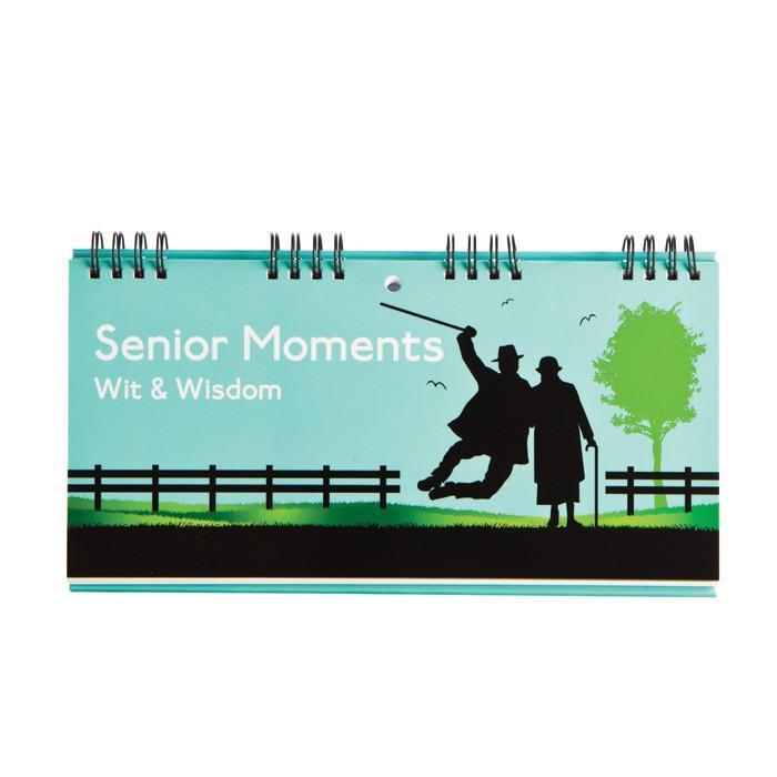 Senior Moments Wit & Wisdom Book | Books By Boxer - - Boxer Gifts - Yellow Octopus
