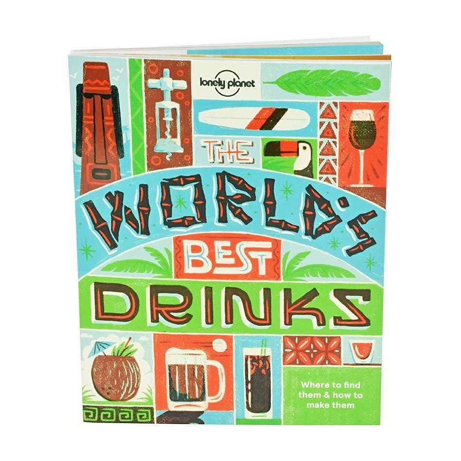 The Lonely Planet Book Of World's Best Drinks - - Lonely Planet - Yellow Octopus