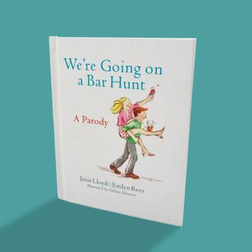 We're Going on a Bar Hunt Parody Book - - Little Brown - Yellow Octopus