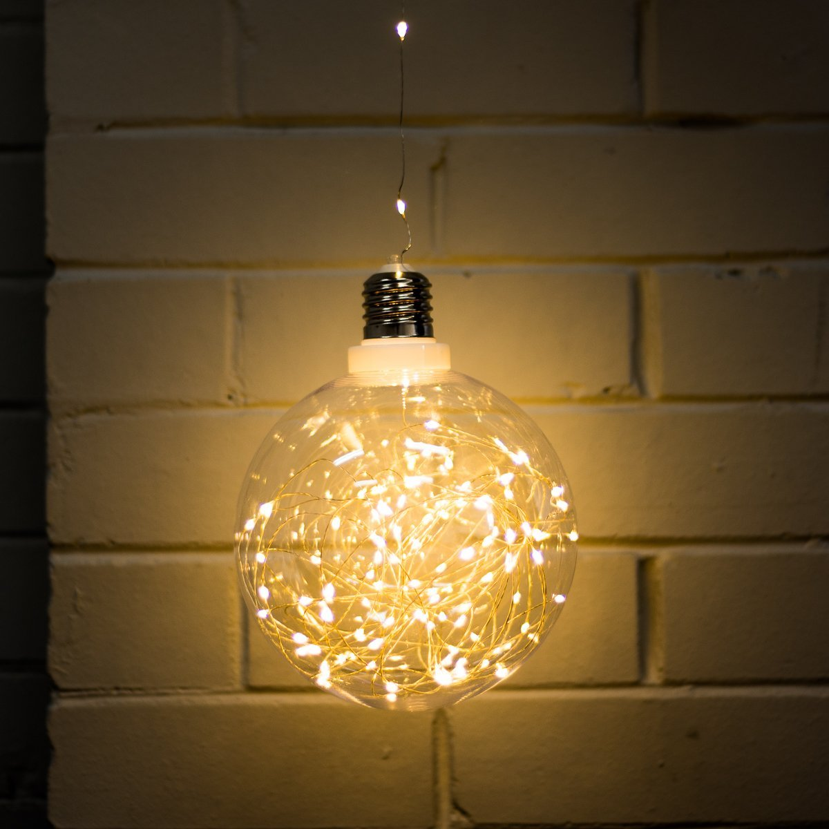 Yellow Octopus Large USB LED String Light Bulb