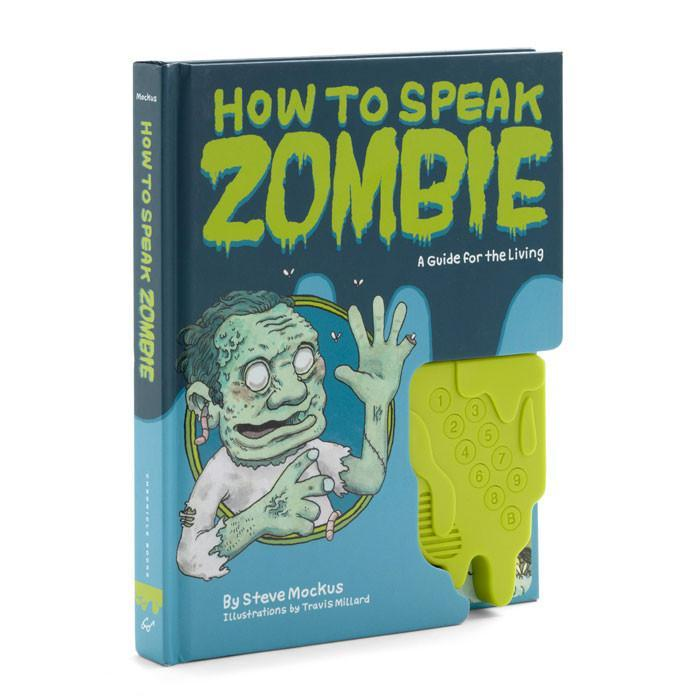 How to Speak Zombie Book with Sound Machine - - Chronicle Books - Yellow Octopus
