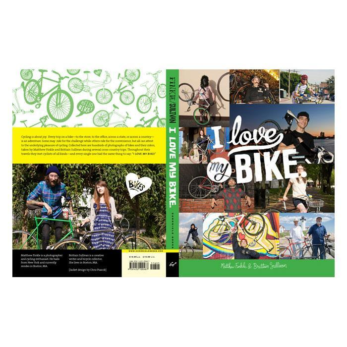 I Love My Bike Book Cycle Cycling Ride Bicycle Books Hipster Fixie