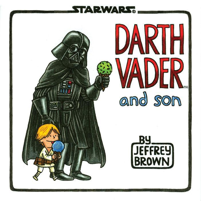 Chronicle Books Star Wars Darth Vader & Son Book