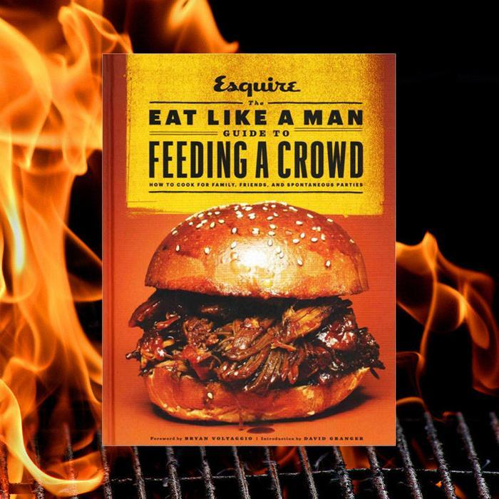 The Eat Like A Man Guide To Feeding A Crowd | Esquire - - Chronicle Books - Yellow Octopus