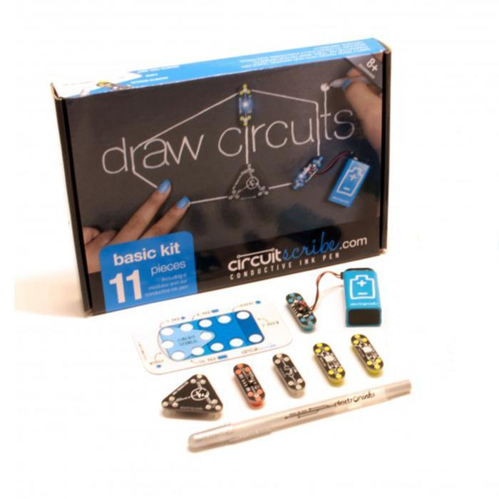 Circuit Scribe Circuit Scribe Conductive Ink Pen Basic Kit