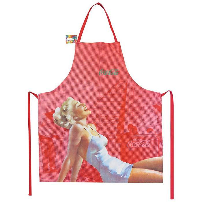 Coca-Cola Coca-Cola Retro Pin-Up Girl Apron