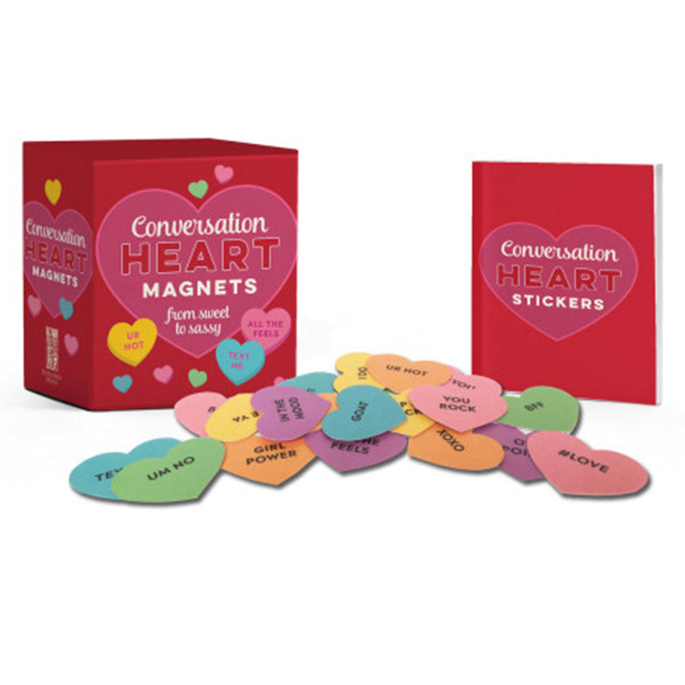 Conversation Heart Magnets & Stickers