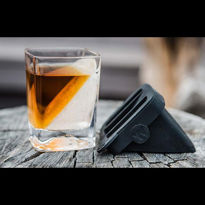 Corkcicle Whisky Wedge Ice Mould & Glass Set