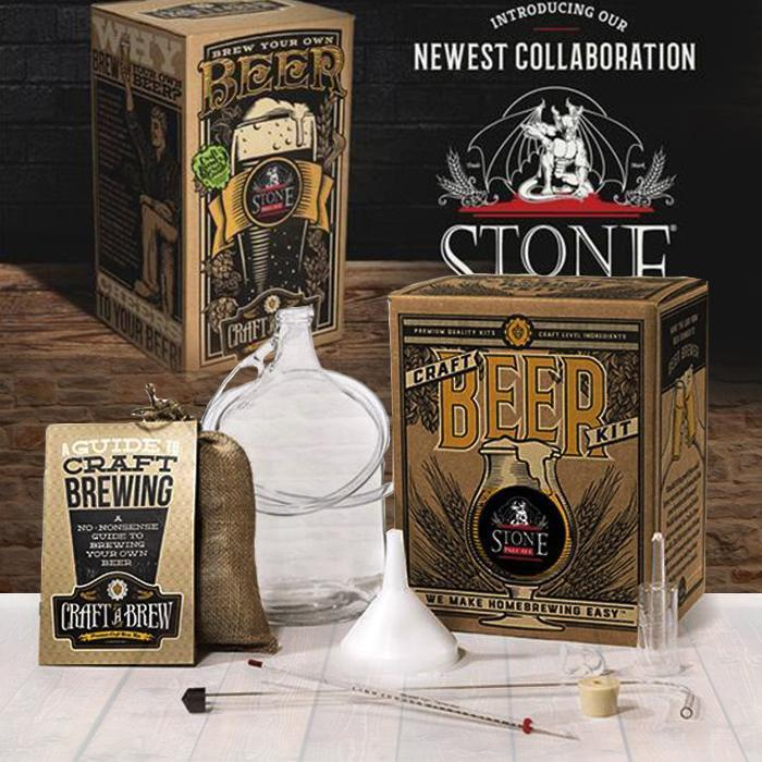 Craft-a-Brew Stone Pale Ale Premium Craft Beer Brewing Kit