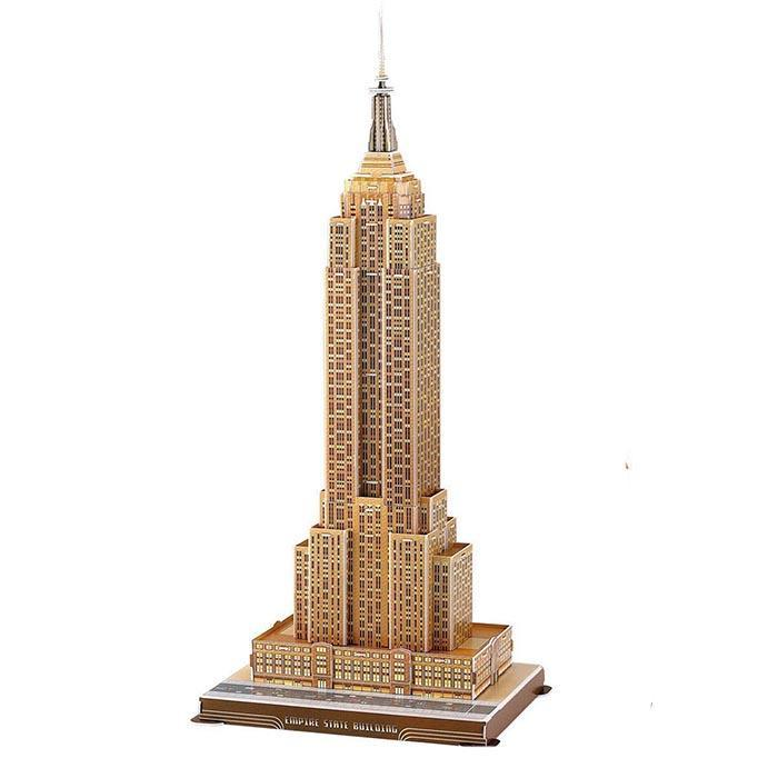 Cubic Fun Empire State Building 3D Replica Puzzle