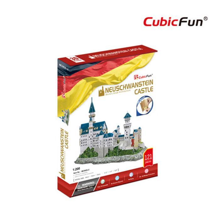 Cubic Fun Neuschwanstein Castle 3D Replica Puzzle