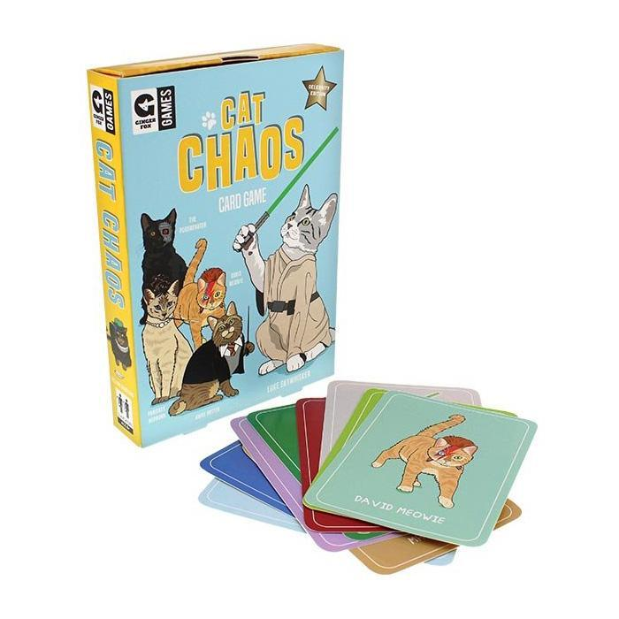 Curated Cat Chaos Card Game