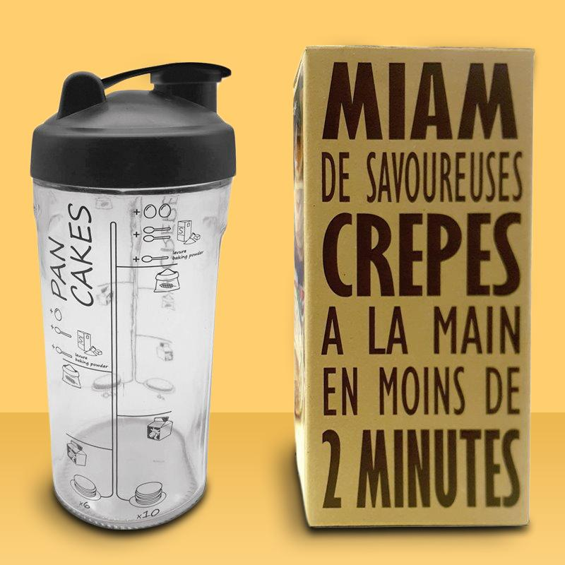 Maim Glass Pancake Recipe Shaker