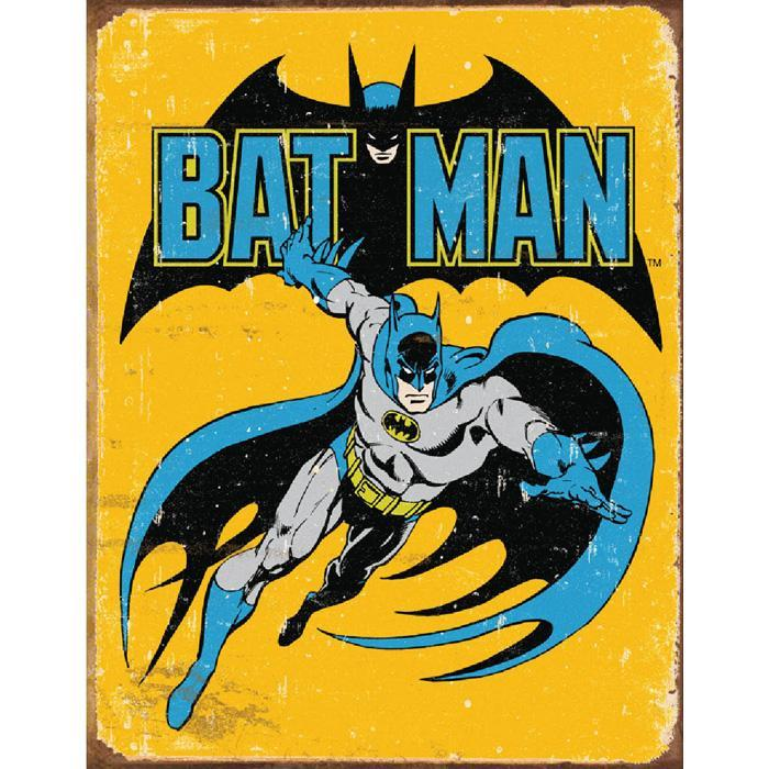 DC Comics Batman Retro Tin Sign