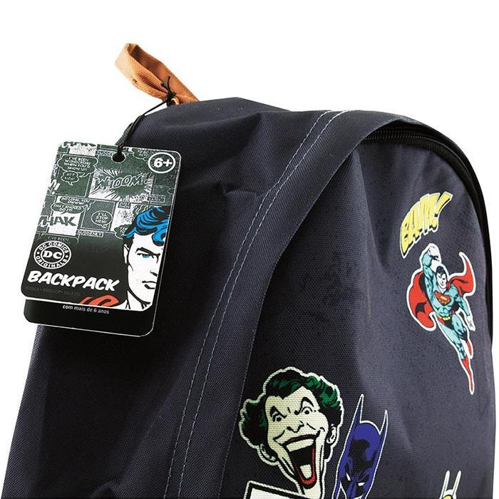 DC Comics Superheroes & Villains Backpack - - DC Comics - Yellow Octopus