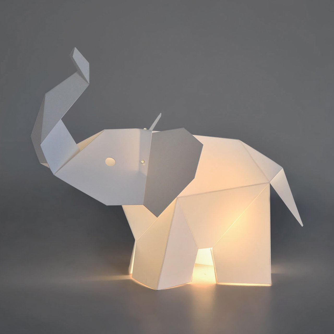 Officina Crea Designer Elephant LED Lamp