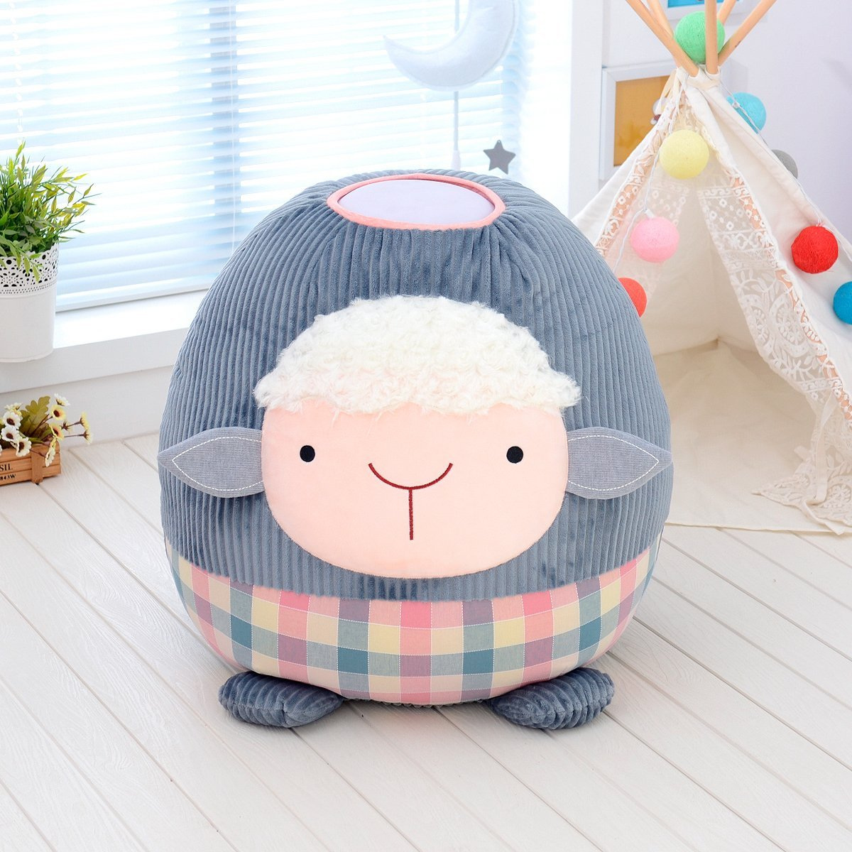 Giant Huggable Sheep Night Light - - Delight Decor - Yellow Octopus