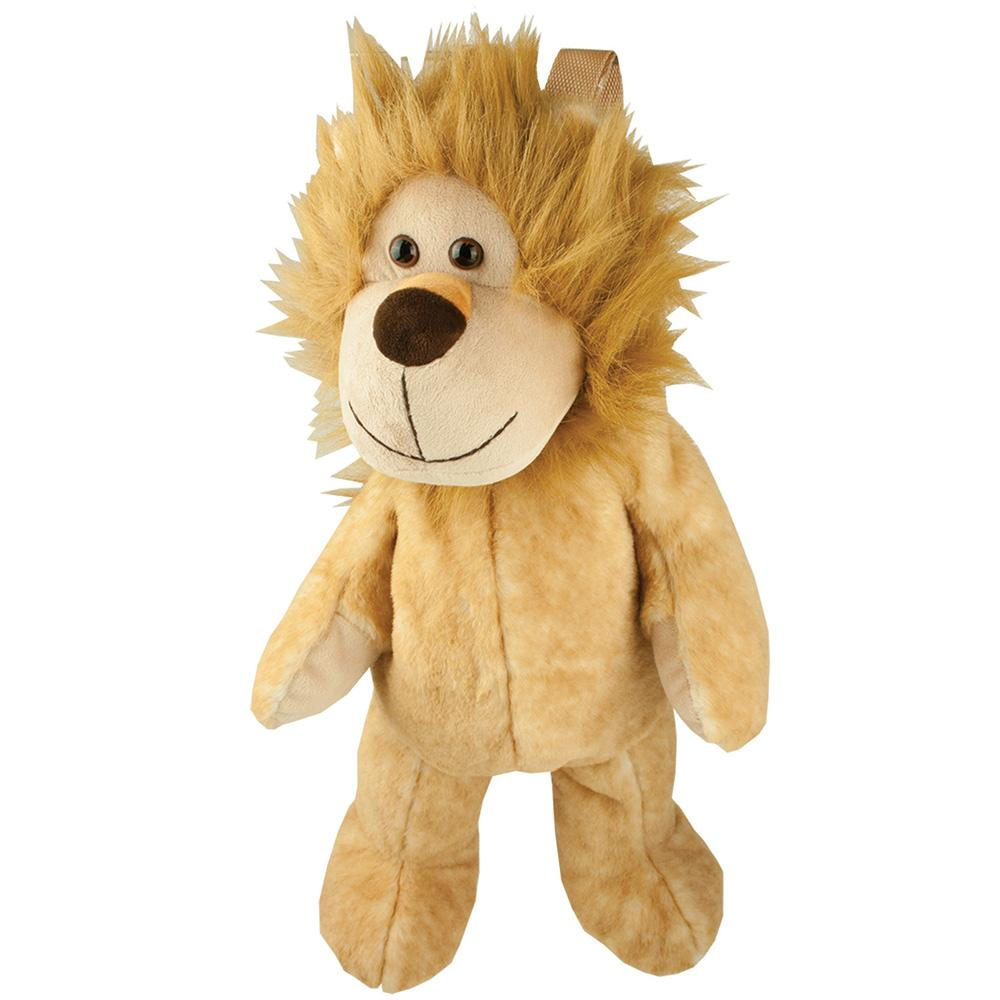 Kids Plush Lion Soft Toy Backpack