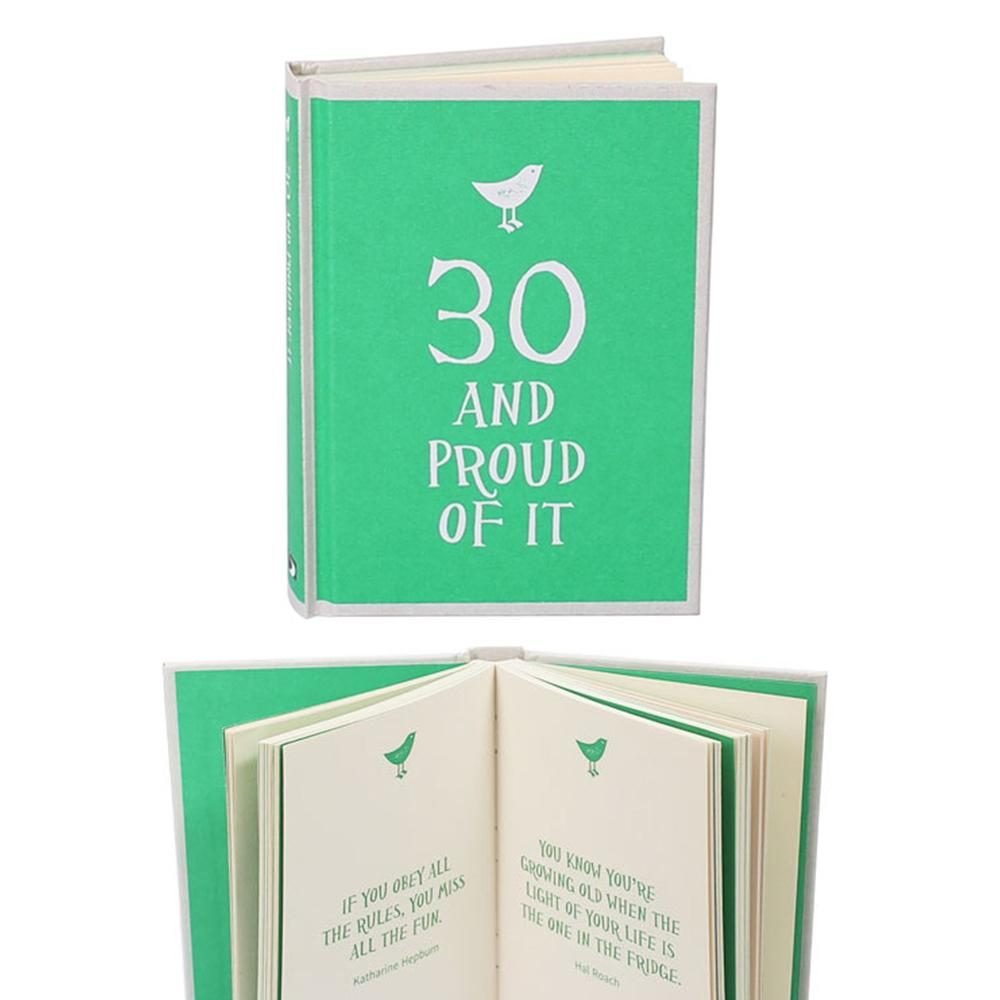 30 & Proud of it Gift Book - - Summersdale - Yellow Octopus